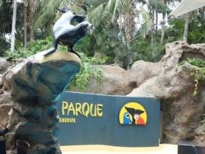Loro Parque desde Gran Canaria