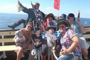 Gran Canaria pirate ship