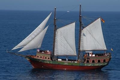 barco velero timanfaya