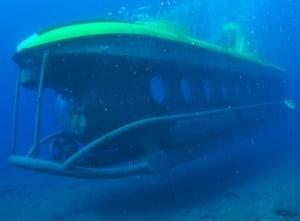 gran canaria submarino