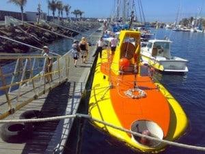 gran canaria submarino amarillo