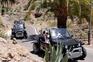 Cabrio tour en Gran Canaria