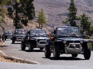 Excursión jeep 4x4 Gran Canaria