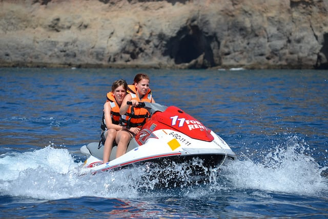 rent Jet ski Playa del Ingles and Mogan