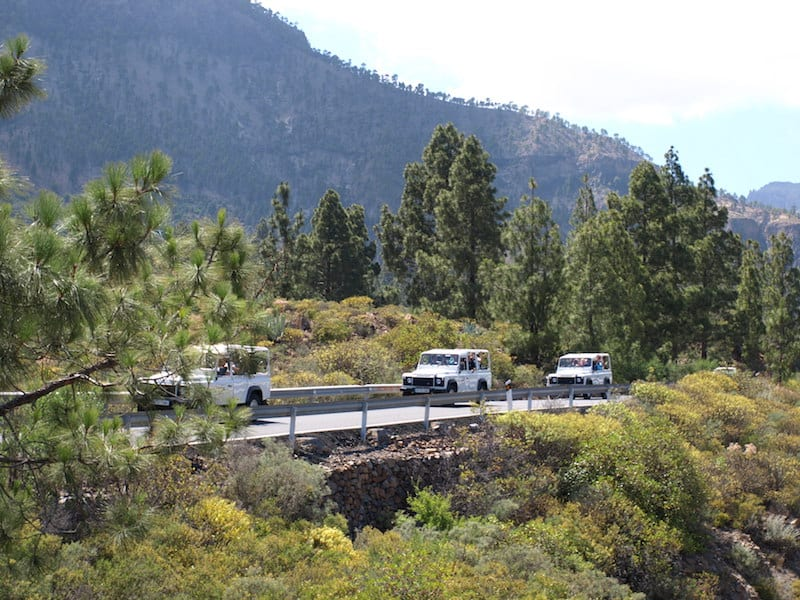Carretera jeep asfalto Gran Canaria