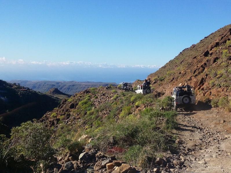 excursiones jeeps gran canaria