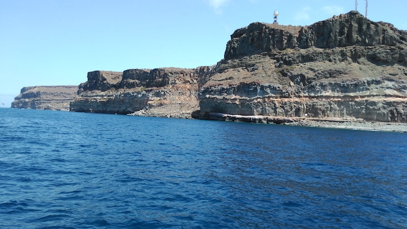 South coat of Gran Canaria
