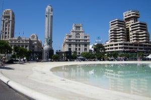 Plaza de España en Santa Cruz
