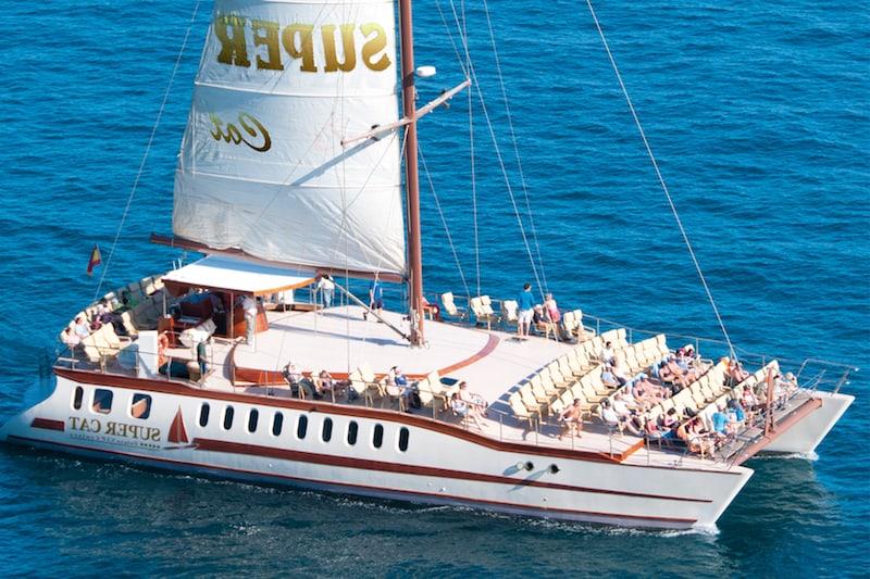 Excursi n en catamaran m s valorada en 2018 para ver delfines en gran canaria - Taxi puerto rico gran canaria ...