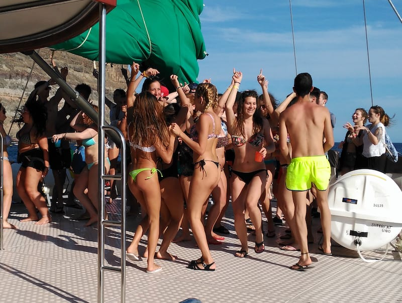 playa del ingles party