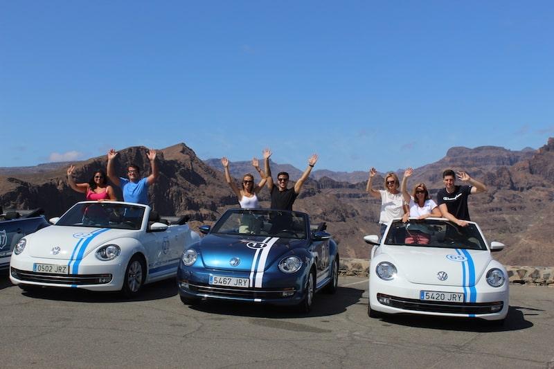 Volkswagen Beetle Cabrio tours