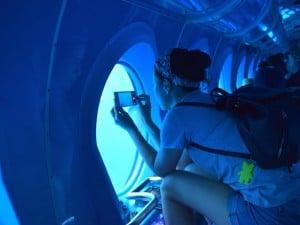 selfie submarino amarillo