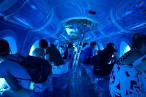 visitantes del submarino