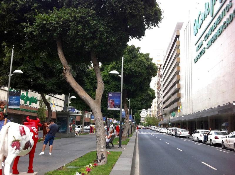 91f9b3fc4e5 El Corte Ingles shopping center in Gran Canaria