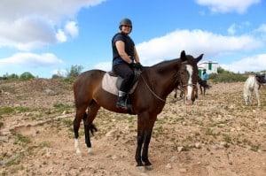 horse ridign gran canaria puerto rico