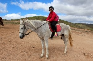 back horse riding gran canaria