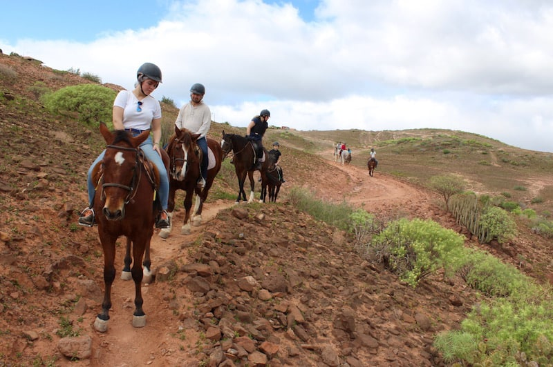 horseback riding playa del ingles