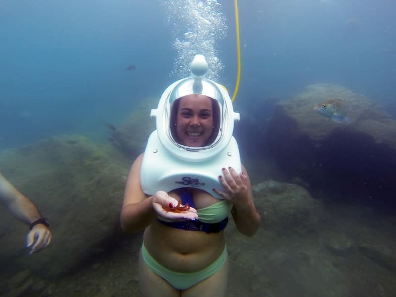 diving in anfi gran canaria