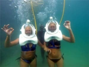 submarine walk in Anfi del Mar