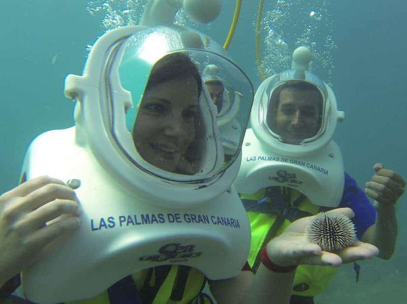 scuba diving in maspalomas