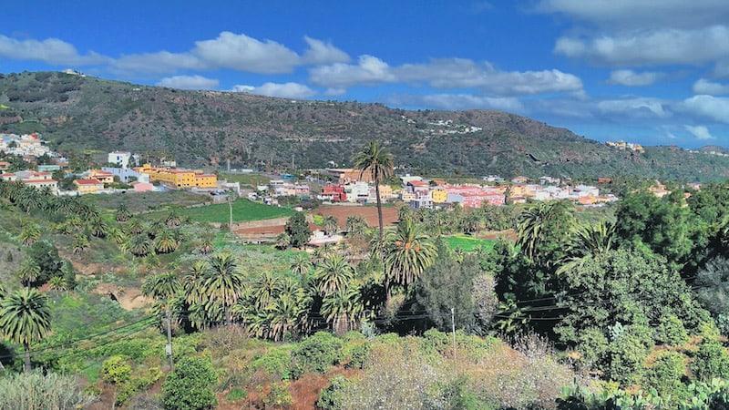 Valles camino San Mateo