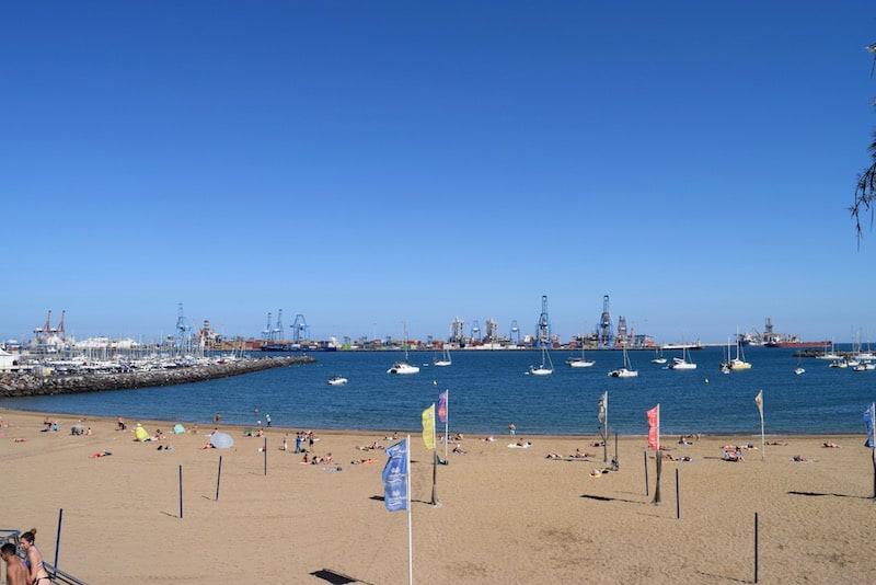 Las ALcaravaneras Strand