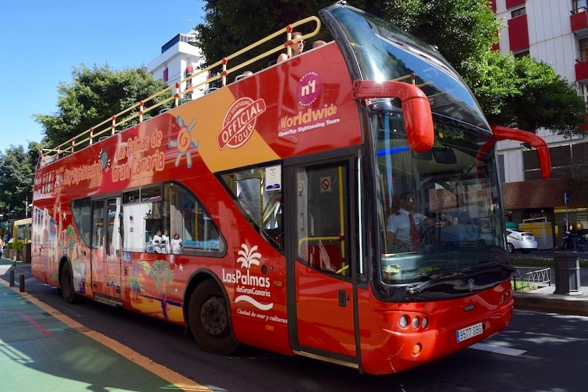 Shore tour - Hop-On Hop-Off Las Palmas de Gran Canaria Bus - 2019