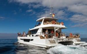 Barco recreativo en Gran Canaria