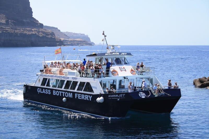 Ferry Arguineguin Puerto De Mogan 6 Departures Per Day 2021