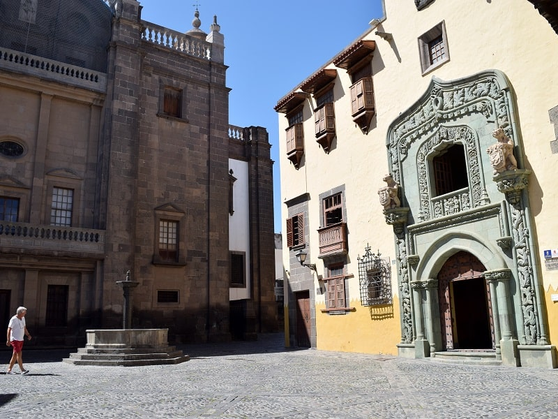 guided tour to the old town of Gran Canaria