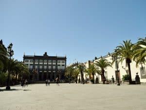 Besuch in Las Palmas von Maspalomas