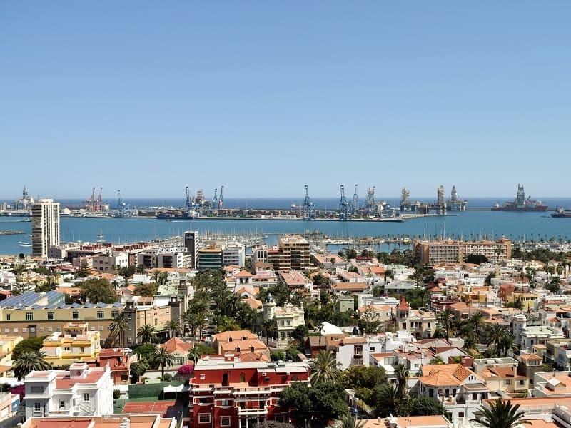 Besuch in der Altstadt von Las Palmas