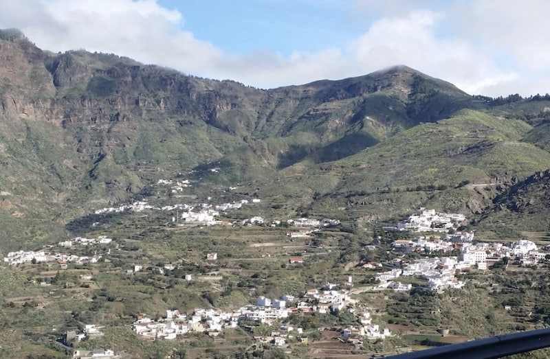 View of Tejeda