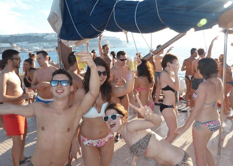 Boat party Gran Canaria