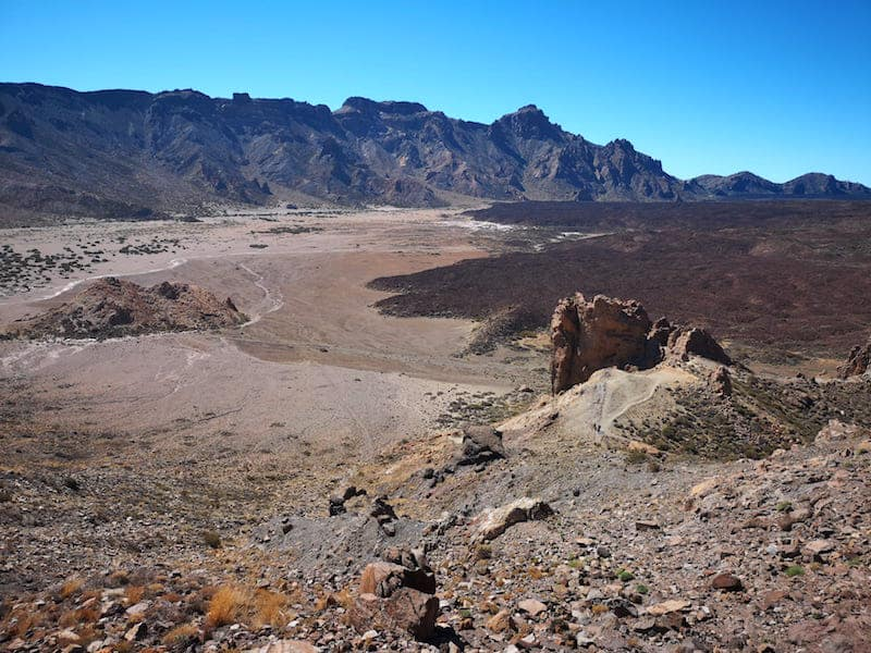 Valle de Ucanca - Teide