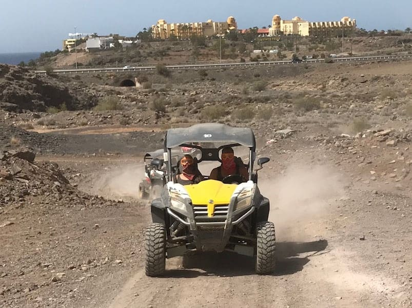 Buggy tour in Gran Canaria